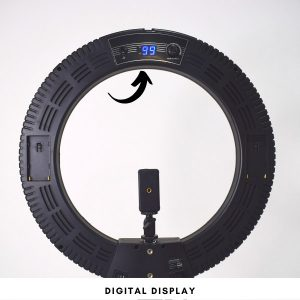 digital display ring light